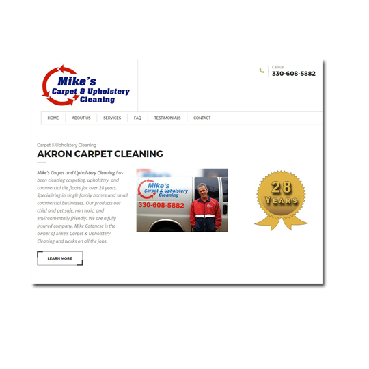 Mike's Carpet & Upholstery Cleaning
